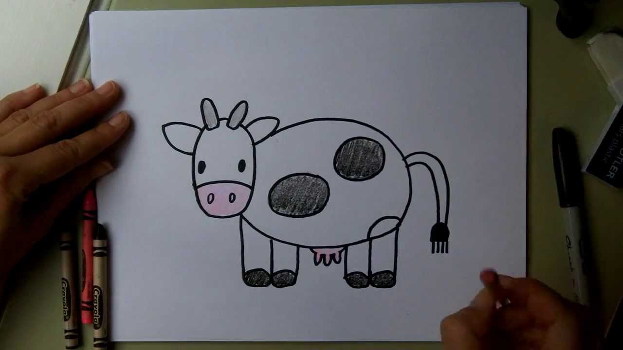 How To Draw A Cow Step By Step Guide How To Draw
