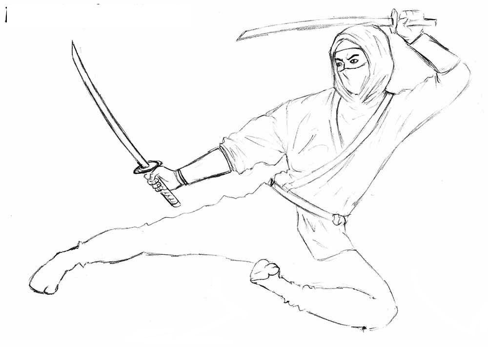 8-How-to-Draw-a-Ninja