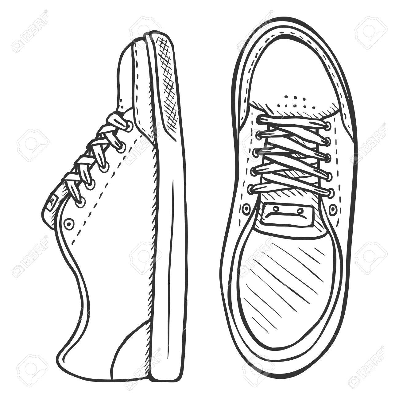 How to Draw Shoes  Step By Step Guide
