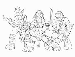 Ninja Turtle Drawing