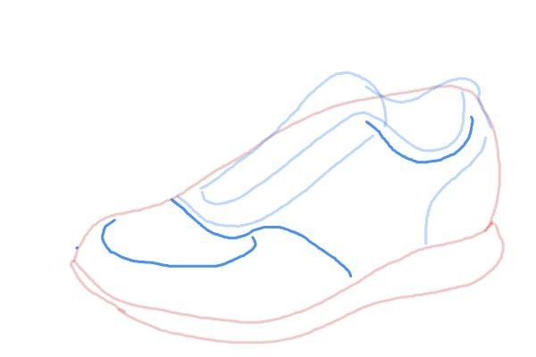 Step by Step Draw Shoes