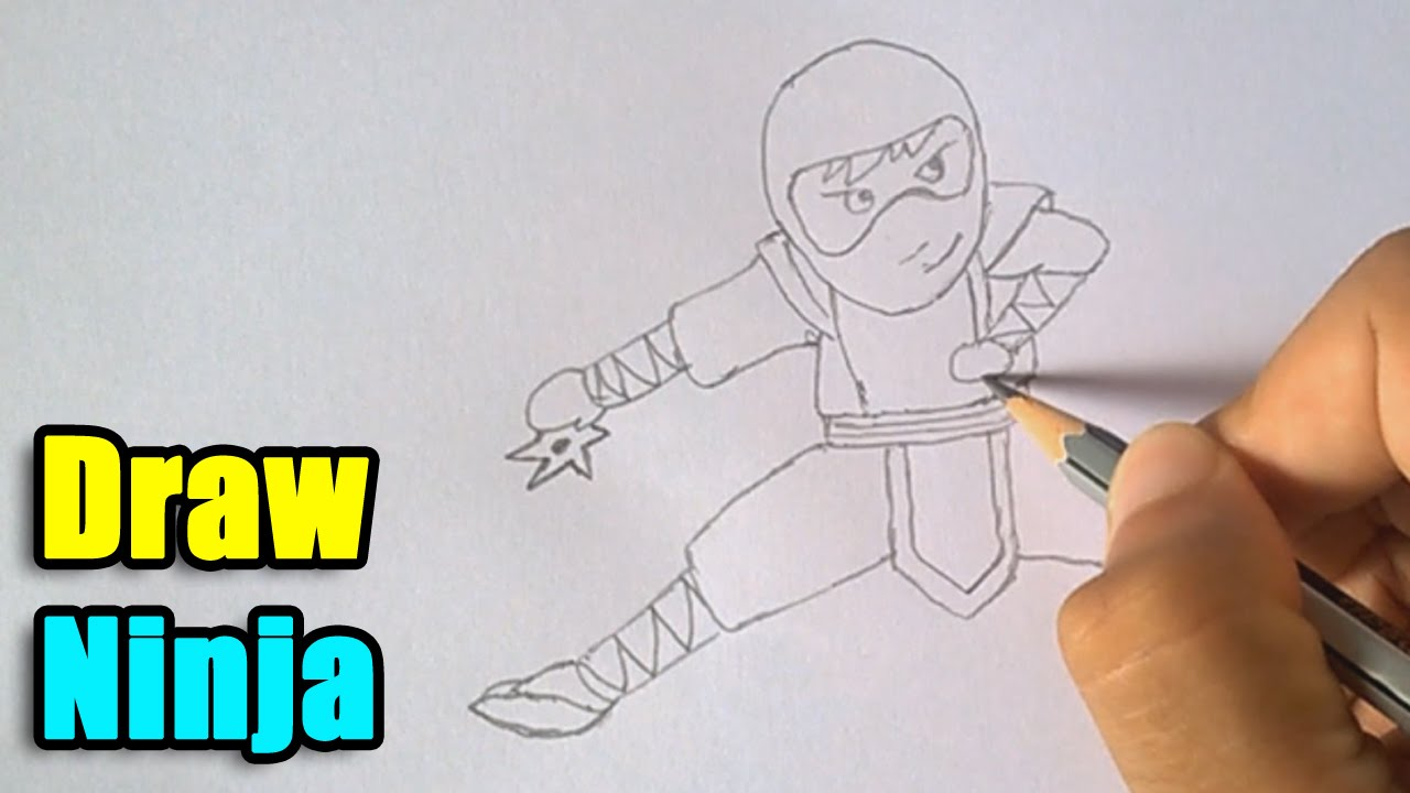 How to Draw a Ninja