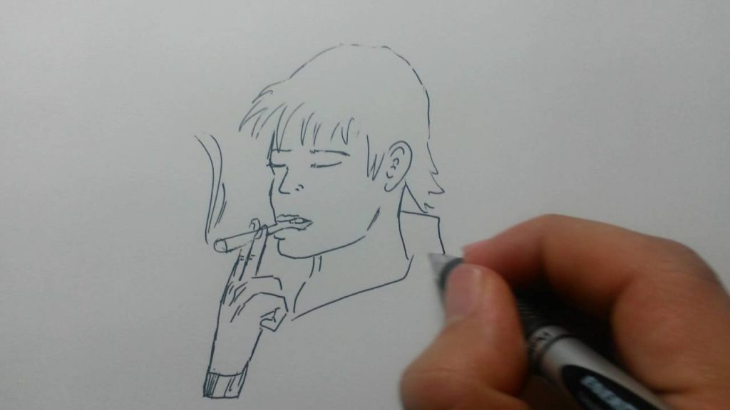 How to Draw Smoke Easy