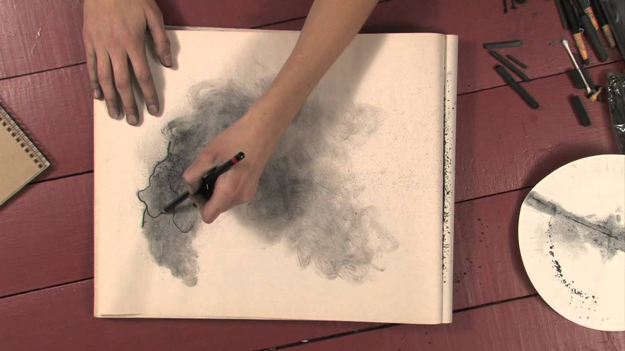 How to Draw Smoke With Charcoal