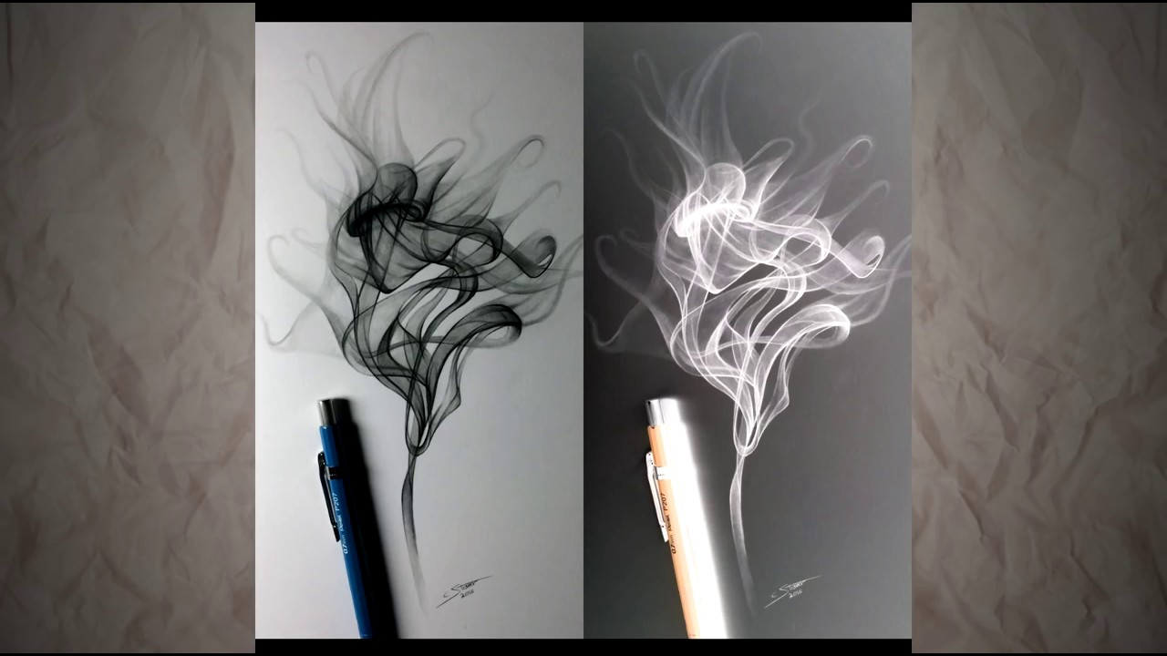 How to draw smoke step to step guide how to draw