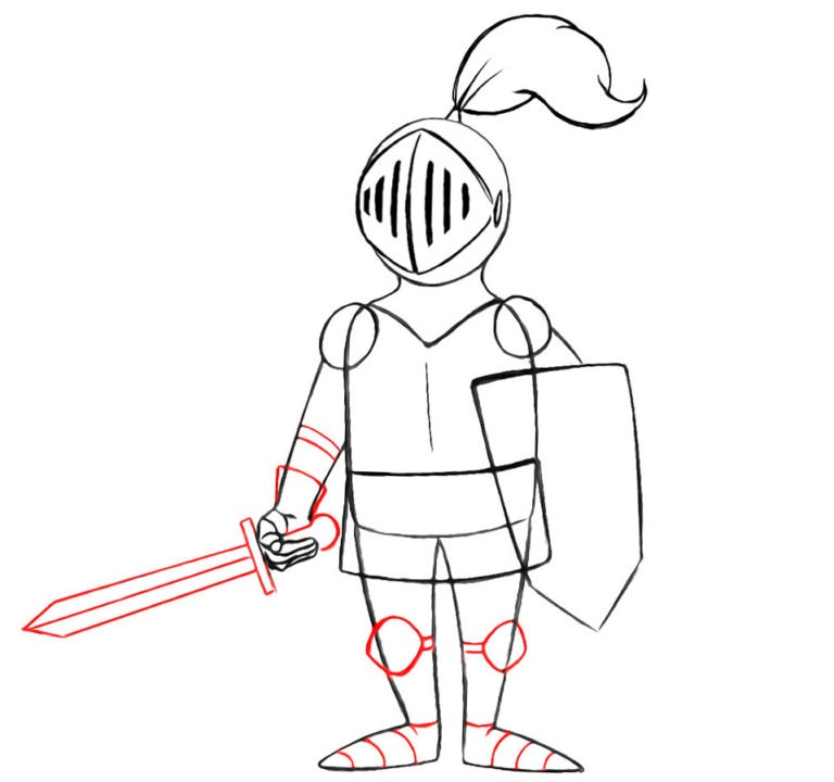 7-learn-to-draw-a-knight-for-beginners-1-768×720