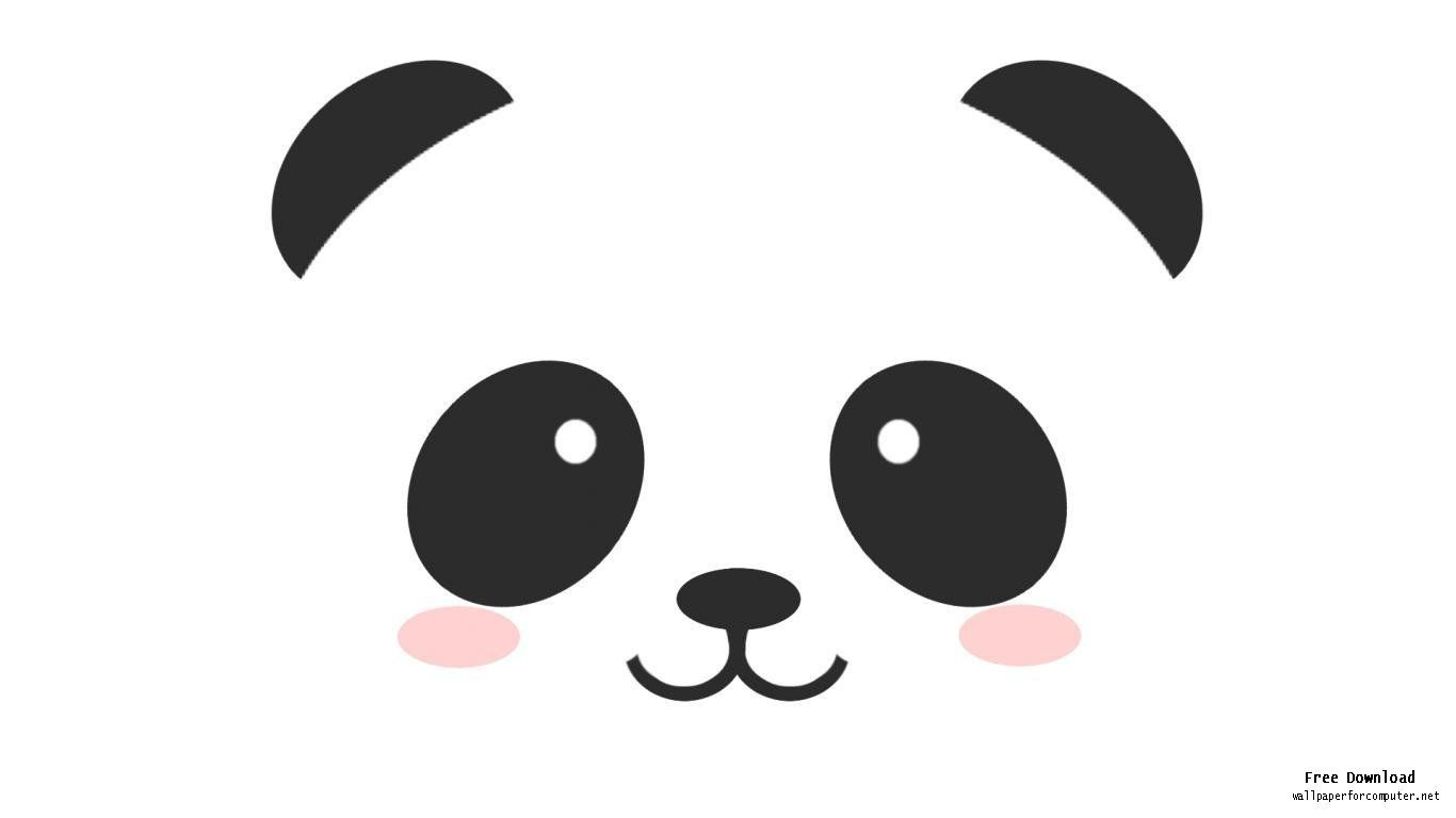 How to Draw Panda Face