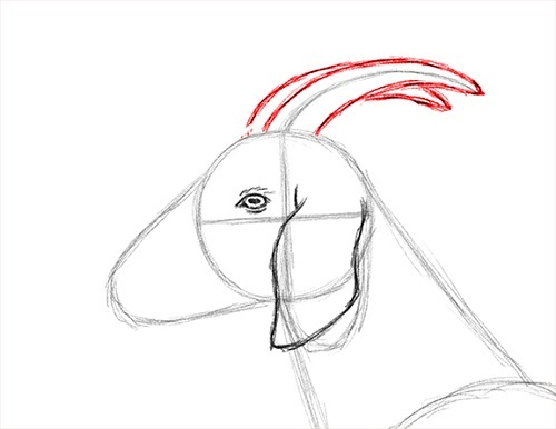 How to Draw a Goat Face