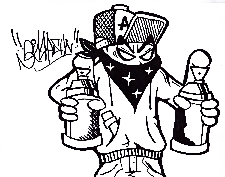 Draw Graffiti Characters Spray Can Graffiti Characters Holding Spray Cans – Graffiti Art