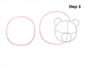How to Draw a Panda Step by Step Using the Pencil