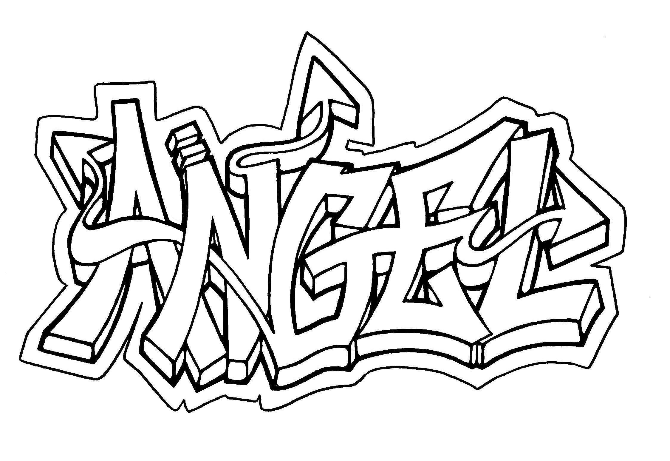 Graffiti For Beginners How To Draw Graffiti Names For Beginners – Graffiti Art