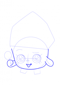Methods to Draw Shopkins Cupcake Queen