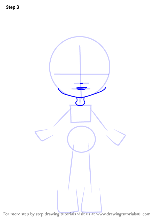 how-to-draw-Donatina-from-Shopkins-step-3