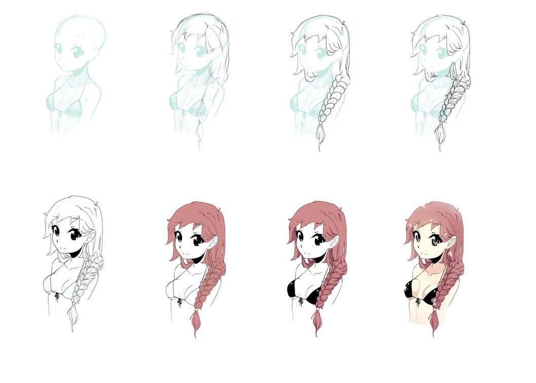 Easy to Draw a Braid