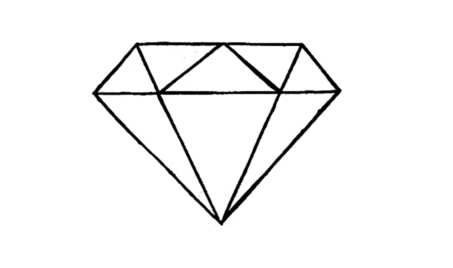 Way to Draw a Diamond Shape