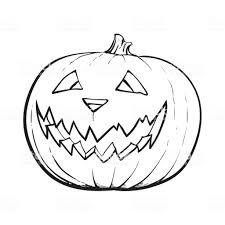 Way to Draw a Pumpkin Face