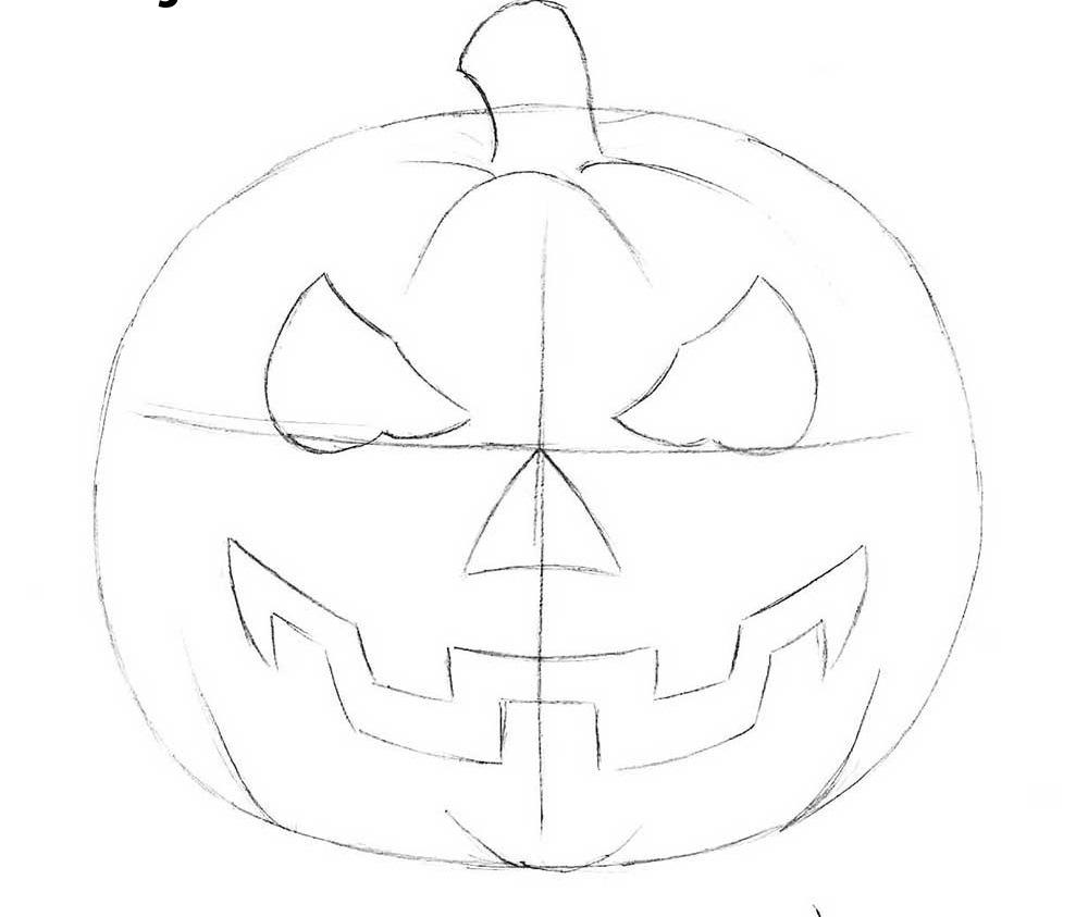 4-how-to-draw-a-halloween-pumpkin-head1
