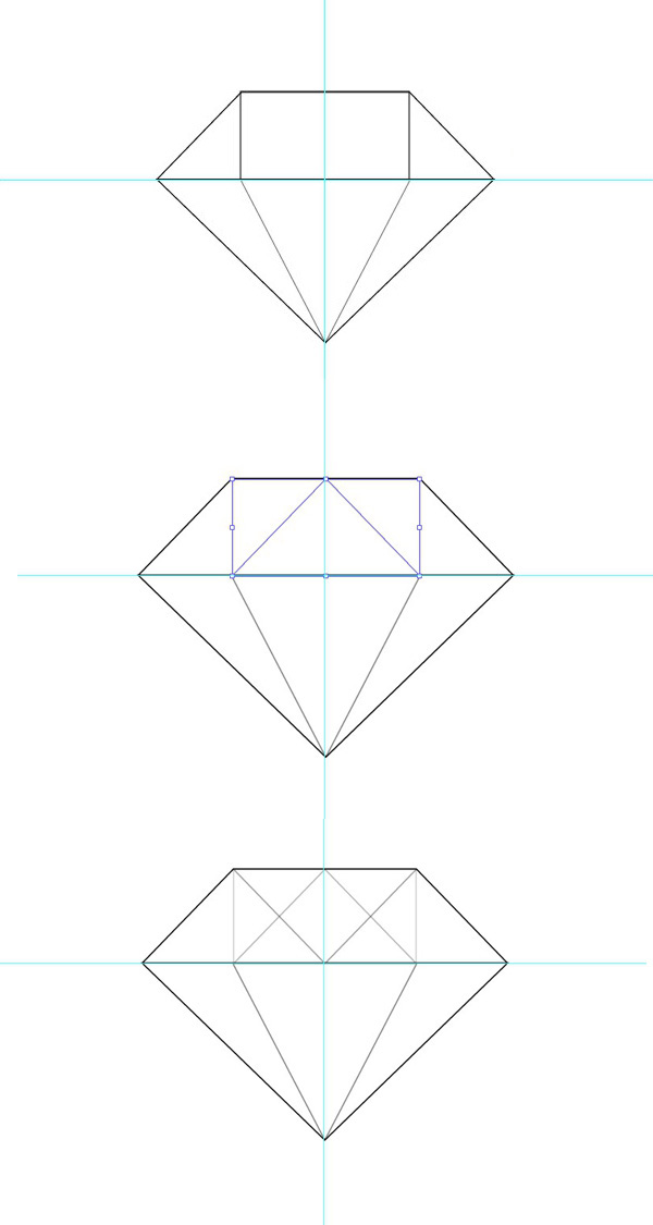 Method to Draw a Diamond pattern