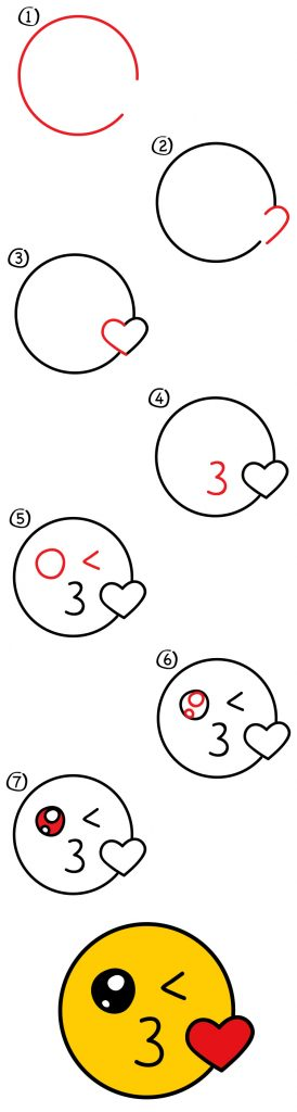 How To Draw Emojis Step By Step Guide How To Draw